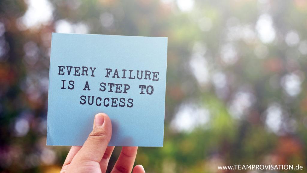 Scheitern und daraus lernen - die Erfolgsformel für zukunftsfähige Unternehmen.