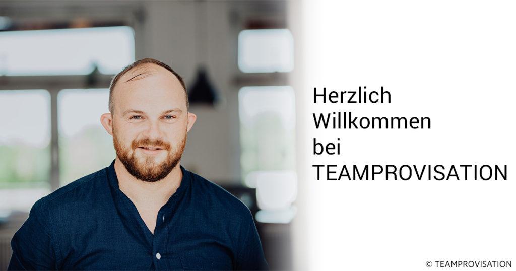 Herzlich Willkommen bei Teamprovisation
